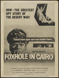 "Movie Posters:War, Foxhole in Cairo (Paramount, 1961). Posters (2) (30"" X 40"").War.... (Total: 2 Items)"