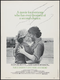 """Alice Doesn't Live Here Anymore (Warner Brothers, 1974). Poster (30"""" X 40""""). Drama"""