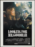 "Movie Posters:Drama, Looking for Mr. Goodbar (Paramount, 1977). Poster (30"" X 40""). Drama...."