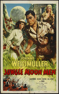 "Movie Posters:Science Fiction, Jungle Moon Men (Columbia, 1955). One Sheet (27"" X 41""). ScienceFiction...."