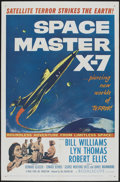 "Movie Posters:Science Fiction, Space Master X-7 (20th Century Fox, 1958). One Sheet (27"" X 41"").Science Fiction...."