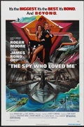 "Movie Posters:James Bond, The Spy Who Loved Me (United Artists, 1977). One Sheet (27"" X 41"").James Bond...."
