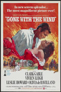 "Movie Posters:Academy Award Winner, Gone with the Wind (MGM, R-1974). One Sheet (27"" X 41""). AcademyAward Winner...."