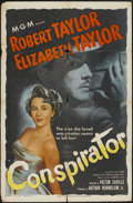 "Movie Posters:Adventure, Conspirator (MGM, 1949). One Sheet (27"" X 41""). Adventure...."