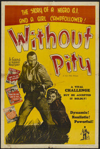 """Without Pity (Lux Film, 1948). One Sheet (28"""" X 42""""). Drama"""