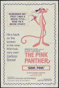 "Movie Posters:Animated, Sink Pink (United Artists, 1965). One Sheet (27"" X 41"").Animated...."