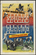 "Movie Posters:Sports, Sports Parade Stock Poster (Warner Brothers, 1948). One Sheet (27""X 41""). Sports...."