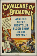 "Movie Posters:Short Subject, Cavalcade of Broadway Stock Poster (Columbia, 1950). One Sheet (27""X 41""). Short Subject...."
