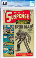 Silver Age (1956-1969):Superhero, Tales of Suspense #39 (Marvel, 1963) CGC FN- 5.5 Cream to off-white pages....