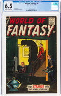 Silver Age (1956-1969):Horror, World of Fantasy #4 (Atlas, 1956) CGC FN+ 6.5 Cream to off-white pages....