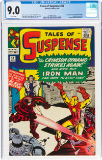 Tales of Suspense #52 (Marvel, 1964) CGC VF/NM 9.0 White pages