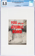 Magazines:Miscellaneous, You and the Atomic Bomb #nn (Life Publishing, c. 1950s) CGC FN- 5.5 Off-white to white pages....