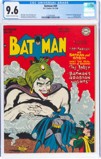 Batman #49 (DC, 1948) CGC NM+ 9.6 Cream to off-white pages