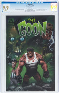 Modern Age (1980-Present):Horror, The Goon #1 (Avatar Press, 1999) CGC MT 9.9 White pages....