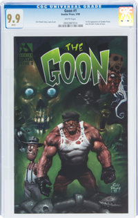 The Goon #1 (Avatar Press, 1999) CGC MT 9.9 White pages