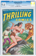 Golden Age (1938-1955):Superhero, Thrilling Comics #71 (Better Publications, 1949) CGC NM+ 9.6 Off-white pages....