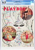 Magazines:Miscellaneous, Playboy V2#2 (HMH Publishing, 1955) CGC FN+ 6.5 White pages....