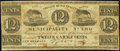 Obsoletes By State:Louisiana, New Orleans, LA- Second Municipality 12 1/2¢ Dec. 1, 1839 Fine.. ...