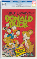 Golden Age (1938-1955):Cartoon Character, Four Color #178 Donald Duck (Dell, 1947) CGC FN 6.0 Off-white to white pages....