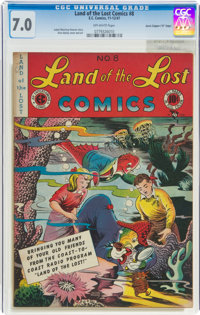 "Land of the Lost Comics #8 Davis Crippen (""D"" Copy) Pedigree (EC, 1947) CGC FN/VF 7.0 Off-white pages"