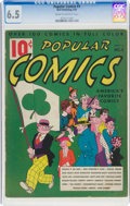 Platinum Age (1897-1937):Miscellaneous, Popular Comics #3 (Dell, 1936) CGC FN+ 6.5 Cream to off-white pages....