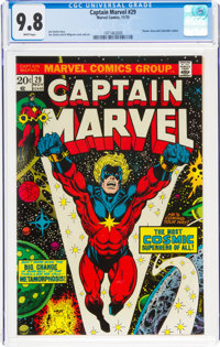 Captain Marvel #29 (Marvel, 1973) CGC NM/MT 9.8 White pages