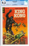 Silver Age (1956-1969):Adventure, Movie Comics: King Kong (Gold Key, 1968) CGC NM- 9.2 White pages....