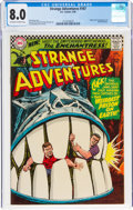 Silver Age (1956-1969):Science Fiction, Strange Adventures #187 (DC, 1966) CGC VF 8.0 Off-white to white pages....