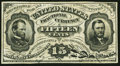 Fractional Currency:Third Issue, Fr. 1272SP 15¢ Third Issue Glued Specimen Very Fine.. ...