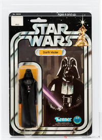 Star Wars - Darth Vader 12 Back-C Action Figure (Kenner, 1978) AFA 85 NM+