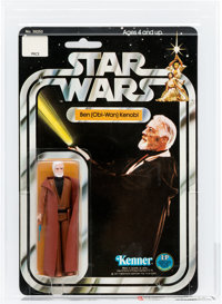 Star Wars - Ben (Obi-Wan) Kenobi 12 Back-C White Hair Action Figure (Kenner, 1978) AFA 75 EX+/NM