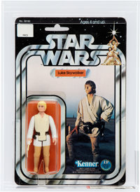 Star Wars- Luke Skywalker 12 Back-A Action Figure (Kenner, 1978) AFA 80 NM
