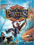 Video Games:Video Game Art, Steven Chorney Sid Meier's Pirates Video Game Box Cover Concept Painting Original Art (Atari, 2004)....