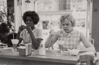 Bruce Davidson (American, b. 1933) Two Women at Lunch Counter from the series Time of Change, 1962 G