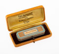 Silver & Vertu, A French Gold and Enamel Étui with Game Tokens in Fitted Case, 19th century. Marks: (sunburst), (maker's mark). 0-1/2 x 2-3/...