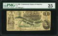 Confederate Notes:1862 Issues, T45 $1 1862 PF-2 Cr. 342 PMG Very Fine 25.. ...