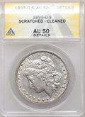 Morgan Dollars: , 1895-O $1 -- Scratched, Cleaned -- ANACS. AU50 Details. Mintage 450,000. ...