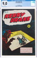 Golden Age (1938-1955):Crime, Kerry Drake Detective Cases #3 (Harvey, 1944) CGC VF/NM 9.0 White pages....