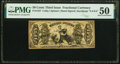 Fractional Currency:Third Issue, Fr. 1357 50¢ Third Issue Justice PMG About Uncirculated 50.. ...