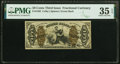 Fractional Currency:Third Issue, Fr. 1362 50¢ Third Issue Justice PMG Choice Very Fine 35 EPQ.. ...