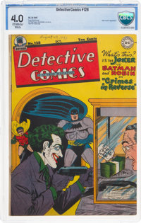 Detective Comics #128 (DC, 1947) CBCS VG 4.0 Off-white to white pages
