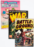 Golden Age (1938-1955):War, Golden Age War Comics Group of 6 (Various Publishers, 1950s) Condition: Average VG.... (Total: 6 Comic Books)