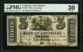 Obsoletes By State:Louisiana, New Orleans, LA- Bank of Louisiana $3 Sep. 19, 1861 G6a PMG Very Fine 30.. ...