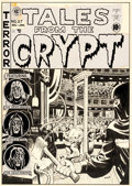 Original Comic Art:Covers, Wally Wood Tales From The Crypt #27 Cover Original Art (EC, 1951)....