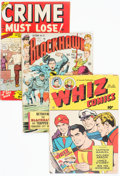 Golden Age (1938-1955):Miscellaneous, Golden Age Comics Group of 11 (Various Publishers, 1940s-50s) Condition: Average GD.... (Total: 11 Comic Books)