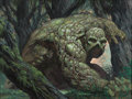 Original Comic Art:Covers, Bernie Wrightson Roots of the Swamp Thing #1 Wraparound Cover Original Art (DC, 1986)....