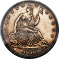 Patterns, 1838 P50C Seated Liberty Half Dollar, Judd-82 Original, Pollock-90, R.8, PR63 PCGS. CAC....