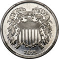 Patterns, 1871 2C Two Cents, Judd-1044, Pollock-1178, R.8, PR67 Cameo PCGS. CAC....