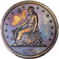 Patterns, 1870 $1 Standard Silver Dollar, Judd-999, Pollock-1130, Low R.7, PR65 Red and Brown PCGS. ...