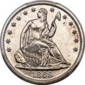 Patterns, 1869 50C Half Dollar, Judd-762, Pollock-847, R.8, PR66+ PCGS. CAC....